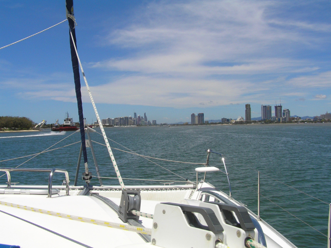 Anchored near VMR Gold Coast